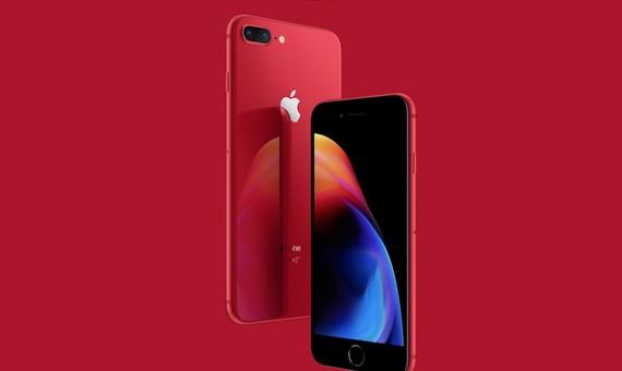 iPhone 8/8 Plus đỏ mới của Apple