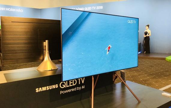 Thế hệ TV QLED 2018 của Samsung tiện dụng hơn, sang trọng
