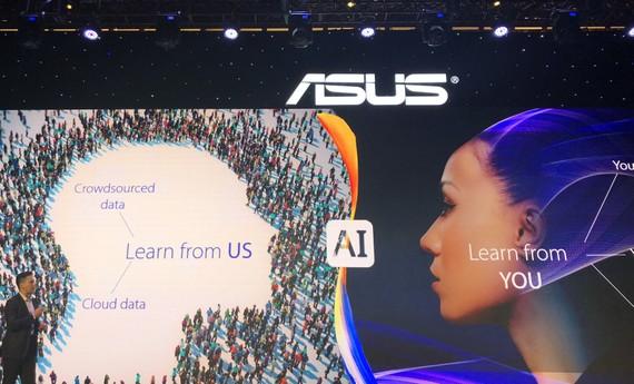 Sản phẩm mới của Asus tập trung khá nhiều vào AI