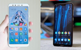 Nokia X6 2018 và Xiaomi Mi 6X