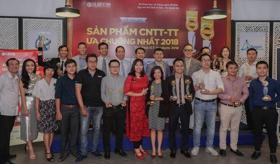 Best Cup 2018 đã được trao cho các doanh nghiệp