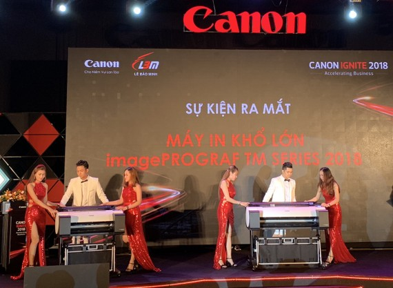 Chương trình Canon Ignite – Bùng Nổ Công Nghệ Tương Lai