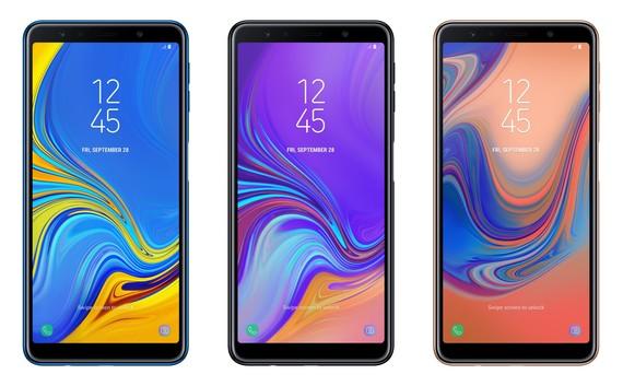 Galaxy A7 với màn hình 6 inch