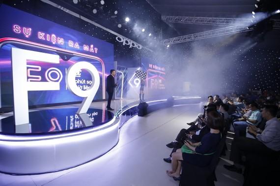 F9, sản phẩm đưa OPPO Việt Nam lên các vị trí mới trên thị trường