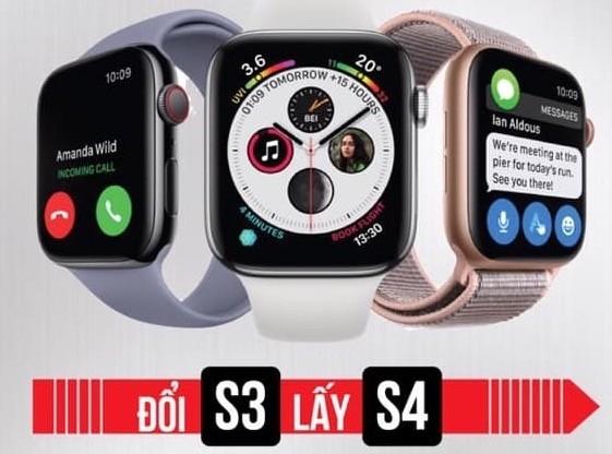 Lên đời Apple Watch S4 khá dễ dàng