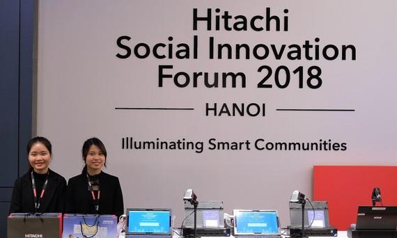 Những giải pháp cải thiện cộng đồng của Hitachi