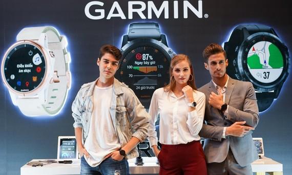 Thương hiệu Garmin đã tham gia trực tiếp vào thể thao chứ không hẵn bán thiết bị