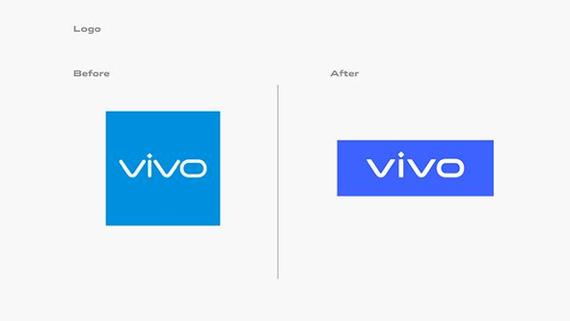 Nhận diện thương hiệu trước và nay của Vivo