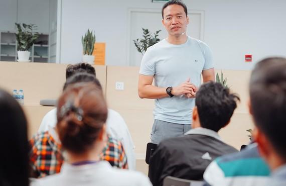 CEO VNG Lê Hồng Minh tại đại học FULBRIGHT