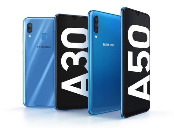 Galaxy A50 và Galaxy A30