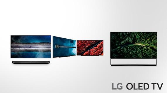 Những mẫu mới của TV LG