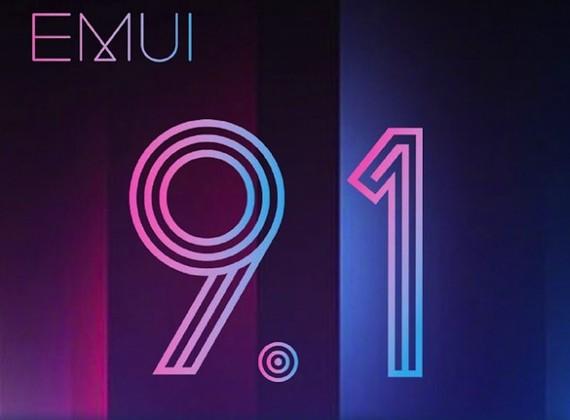 Di dộng Huawei phát hành bản nâng cấp mới nhất của hệ điều hành Android Pie, EMUI 9.1