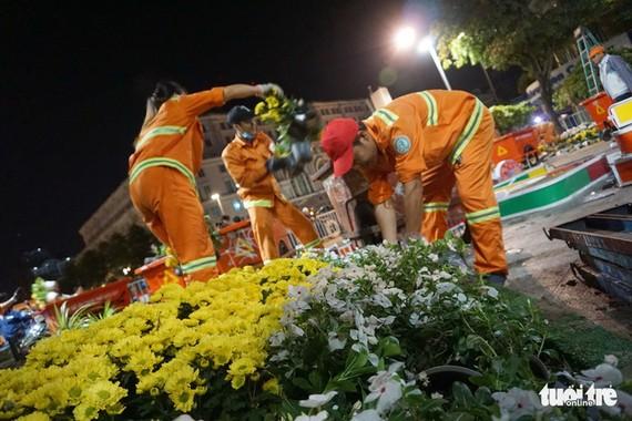 500人清理阮惠春花街