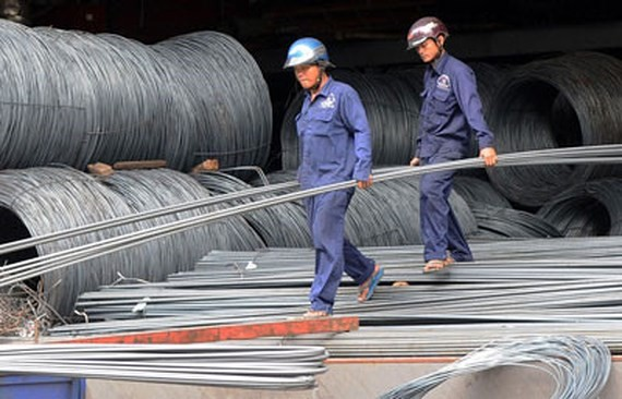 Vietnam imposes duties on imported steel wire, rolled steel