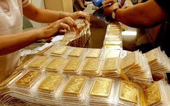 Gold cools down