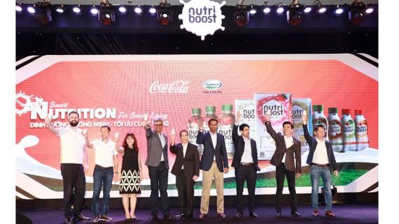 Coca-Cola ra mắt bộ sản phẩm sữa nước Nutriboost mới