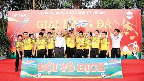 """Giải bóng đá thường niên """"Cúp Vedan"""" lần thứ 20"""