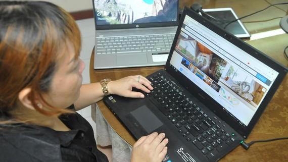 Đặt khách sạn tại Đà Lạt qua trang trực tuyến Agoda. Ảnh: THÀNH TRÍ