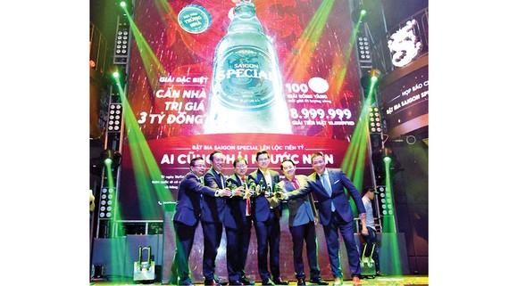 """SABECO công bố chương trình khuyến mãi """"Bật bia Saigon Special lên lộc tiền tỷ"""""""
