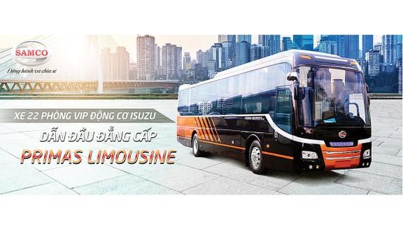 Trải nghiệm dòng xe khách cao cấp Samco Primas Limousine thế hệ mới