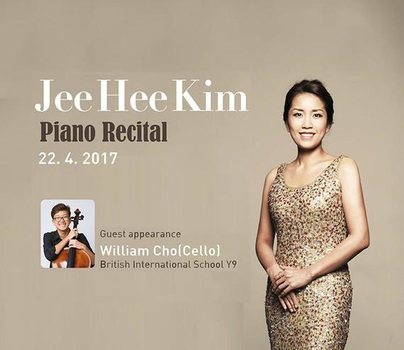 Korean pianist Kim Jee Hee performs in HMC City