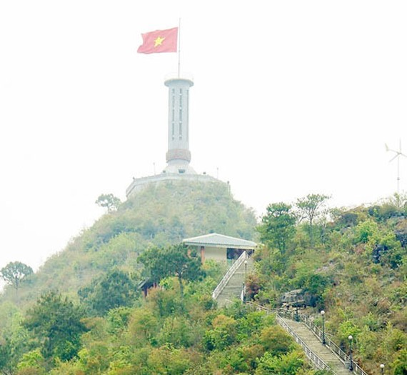 Lung Cu flag tower  (Photo: Sggp)