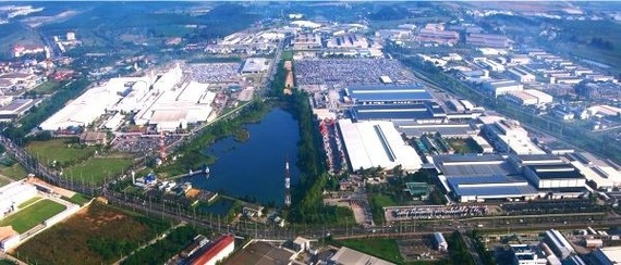 A view of the Southeast Economic Zone of the central province of Nghe An. (Photo: truyenhinhnghean.vn)