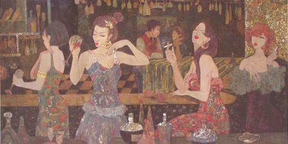 A submission of a painting by Nguyen Thuy Nguyet