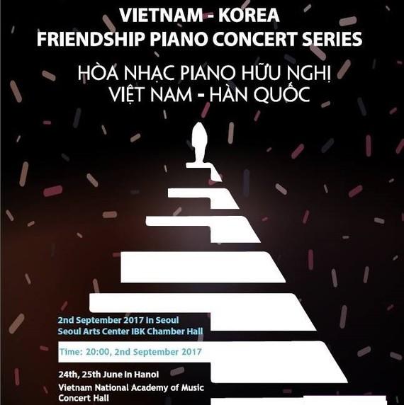 Vietnam-Korea Friendship Piano Concert in Hanoi