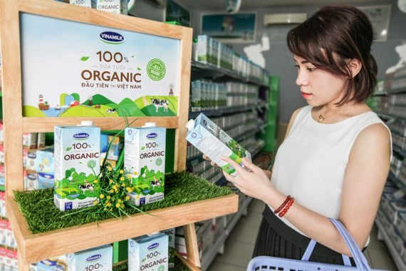 Vinamilk wins the consumer's heart by quality product. (Photo: Sggp)