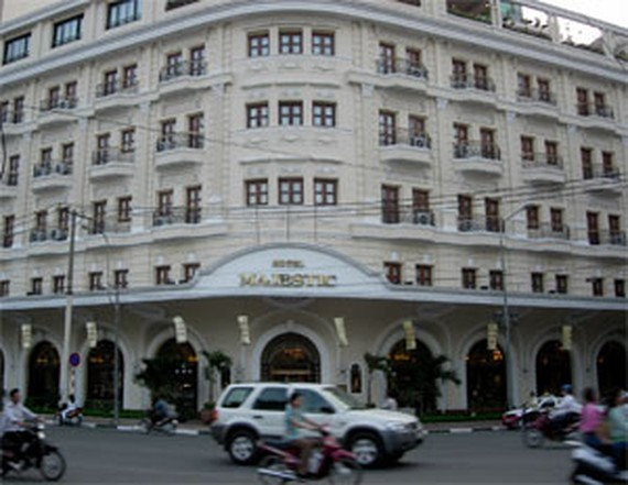 Hotel Majestic Saigon  (Photo: KK)