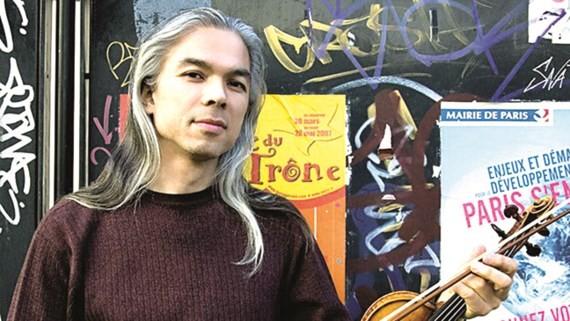 Vietnamese-French violinist Stéphane Tran Ngoc