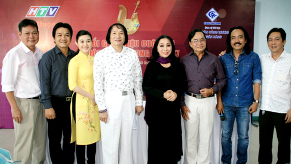 Coaches and jury members of the contest