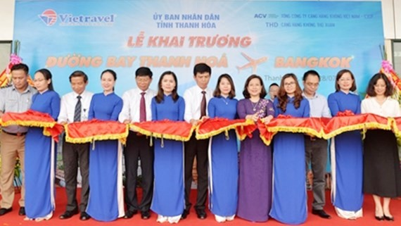 Launching ceremony of direct route from Thanh Hoa to Bangkok