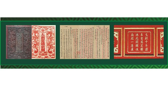 Nguyen Dynasty's UNESCO-recognised documentary heritages displayed