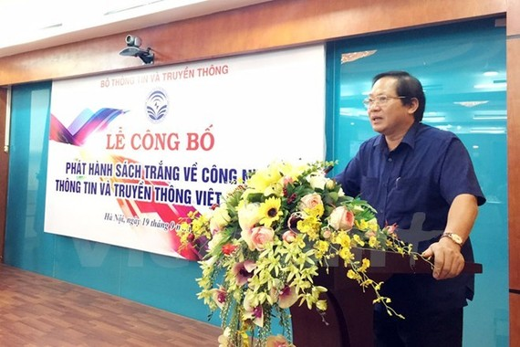 Minister of Information and Communications Truong Minh Tuan (Photo: VNA)
