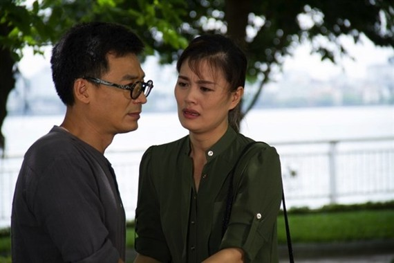 A scene in the film Chieu Ngang Qua Pho Cu (Walking on Old Street in the Afternoon) Photo courtesy of VFC)