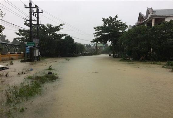 Flood in central Thua Thien-Hue province (Photo VNA)