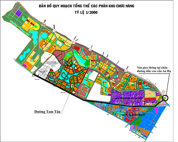 The master plan of the Tay Bac urban area (Source: http://www.bqltaybac.hochiminhcity.gov.vn)