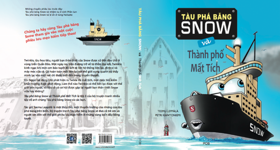 Icebreaker Snow and The Lost City cover (Snow series part 3)