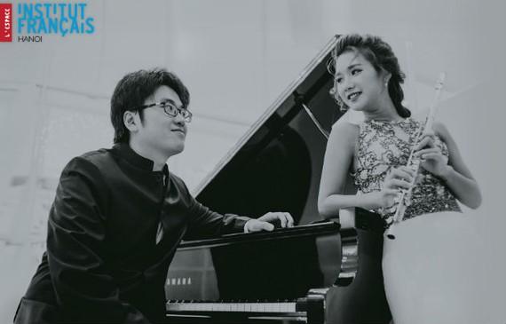 Piano-Flute duet concert in HCMC