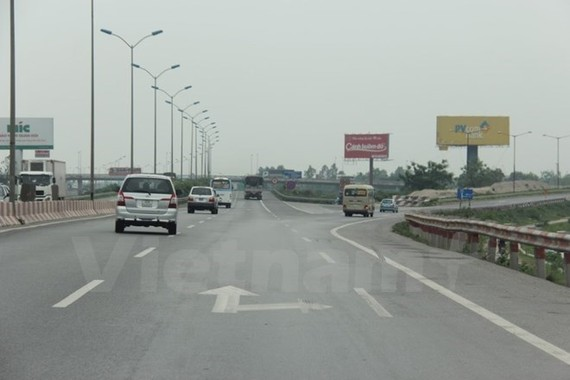 A section of the North-South Expressway (Source: VNA)