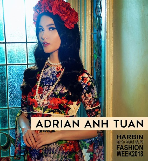 Designer Adrian Anh Tuan joins China's Harbin Fashion Week