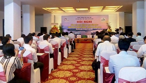 At the conference (Photo: Sggp)