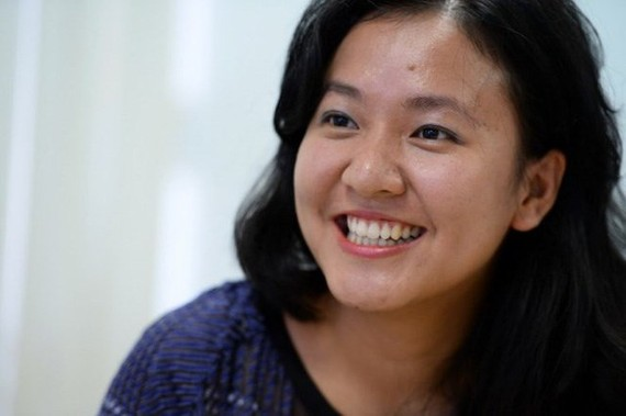 Le Diep Kieu Trang, the new director of Facebook Vietnam (Photo: tuoitre.vn)