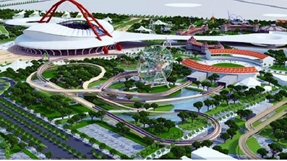 The design of Rach Chiec sports complex in district 2