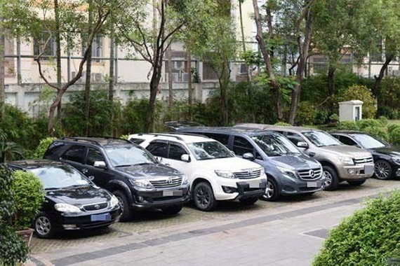 HCM City's pilot public vehicle rental which took effect on May 1 is expected to save more than 100 million VND (4,400 USD) per month for the State budget. — (Photo: nld.com.vn)