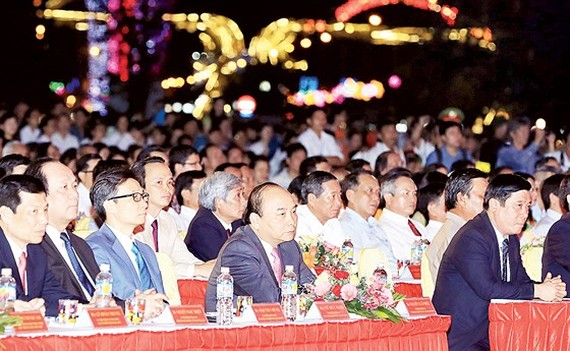 PM Nguyen Xuan Phuc attends the ceremony.  (Photo: TTXVN)