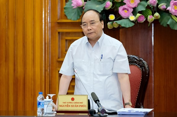 Prime Minister Nguyen Xuan Phuc at a working session with northwestern localities  (Photo: VGP)