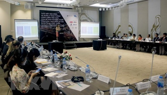 At the roundtable discusion in HCM City (Photo: VNA)